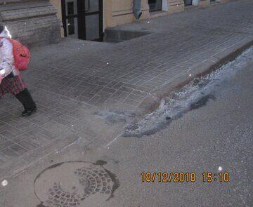 тротуар от остановки общественного транспорта к  зданию школы по ул.Некрасова